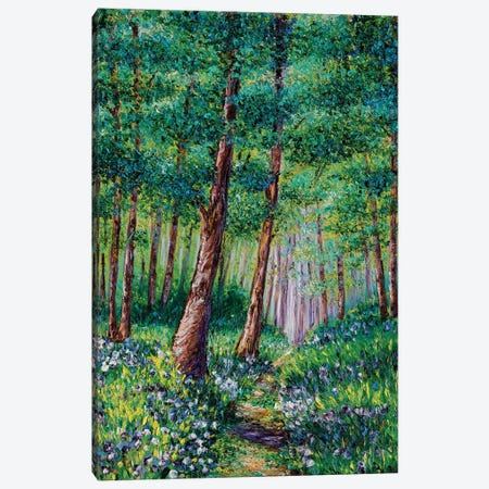 Forest In Bloom Canvas Print #KIM10} by Kimberly Adams Canvas Wall Art