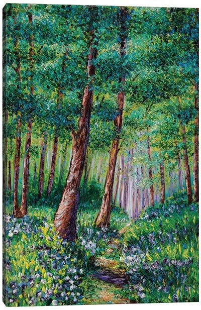 Forest In Bloom Canvas Art Print