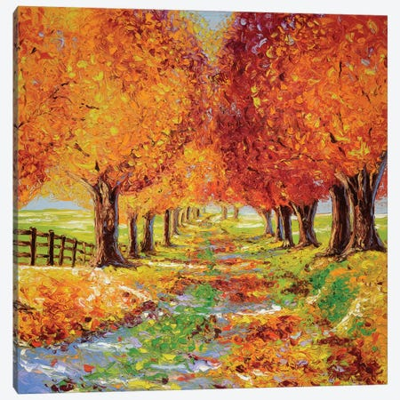 Going Home Canvas Print #KIM11} by Kimberly Adams Canvas Art