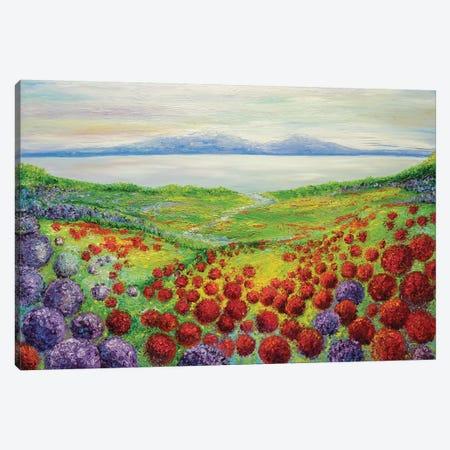 Harmonious Canvas Print #KIM12} by Kimberly Adams Canvas Artwork