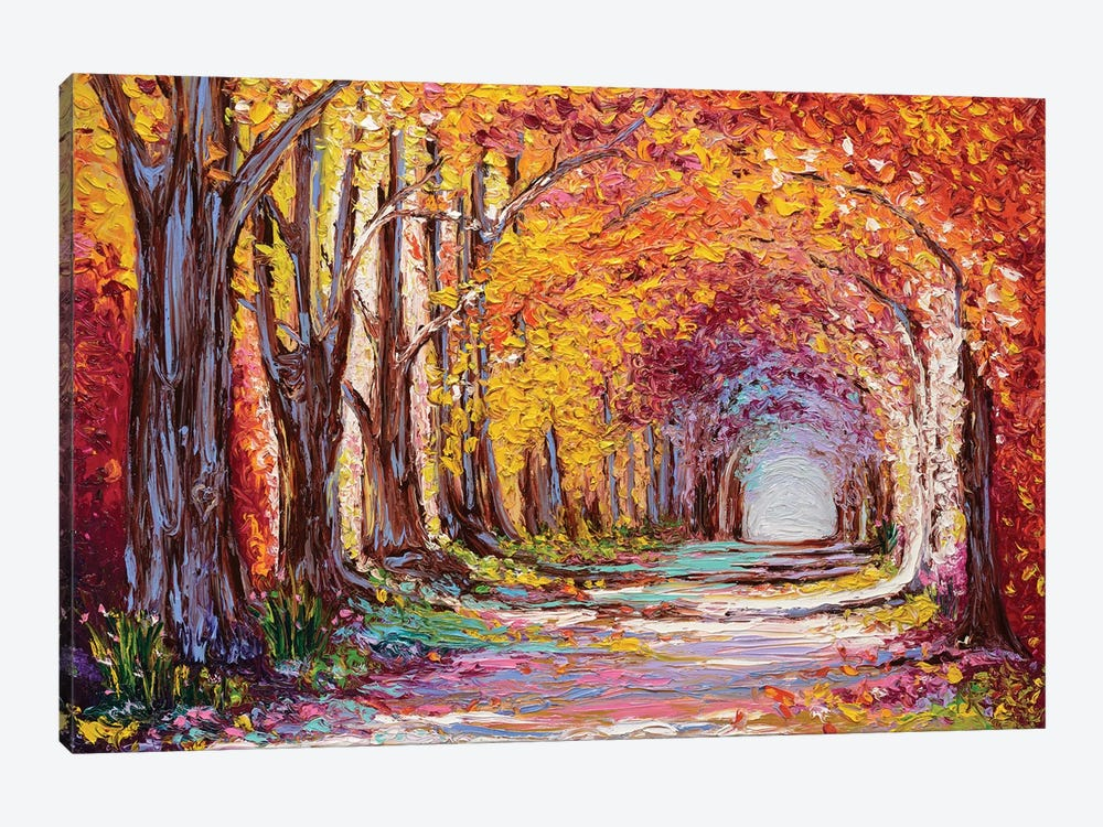 Into The Woods II by Kimberly Adams 1-piece Canvas Wall Art