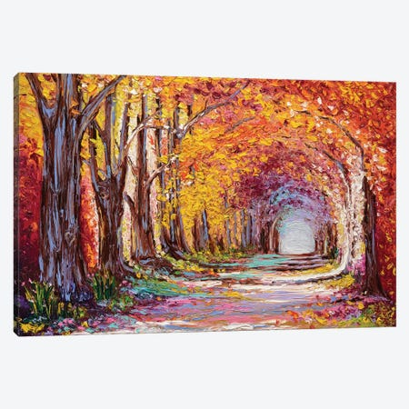 Into The Woods II Canvas Print #KIM13} by Kimberly Adams Canvas Art