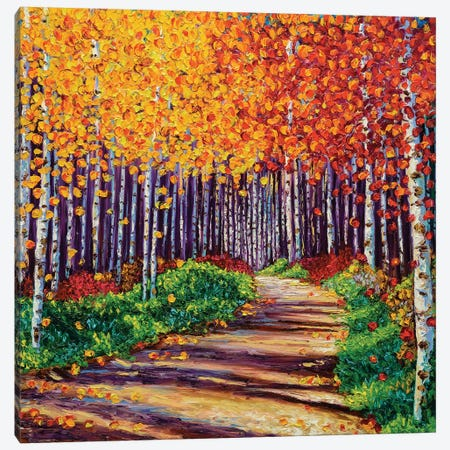 Intricate Forest Canvas Print #KIM14} by Kimberly Adams Canvas Print