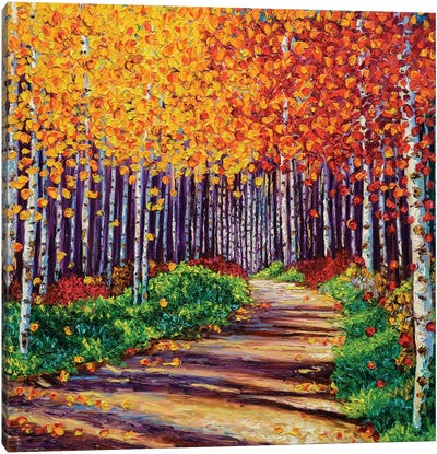 Intricate Forest Canvas Print #KIM14