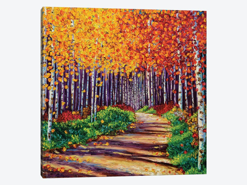 Intricate Forest by Kimberly Adams 1-piece Canvas Print