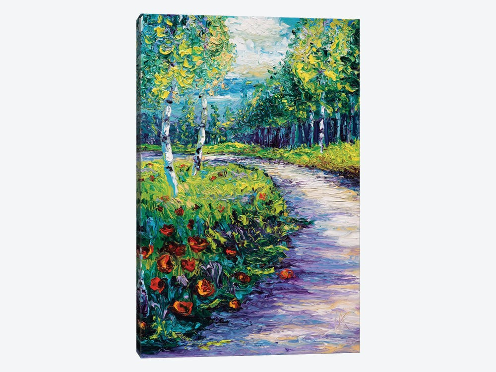 Radiant Path by Kimberly Adams 1-piece Art Print