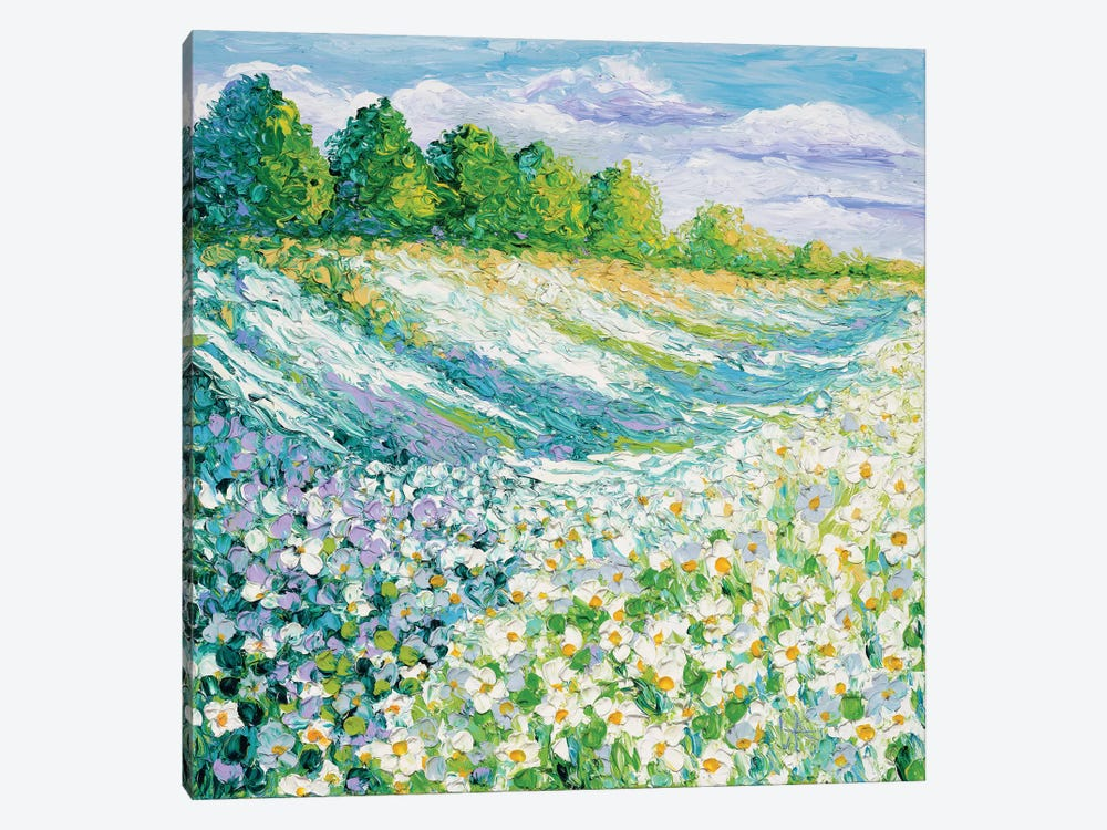 Summer Days by Kimberly Adams 1-piece Canvas Wall Art