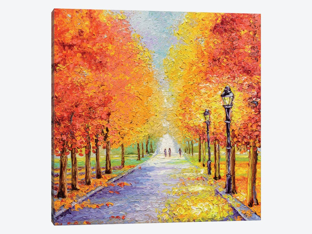 Autumn Lights by Kimberly Adams 1-piece Canvas Print