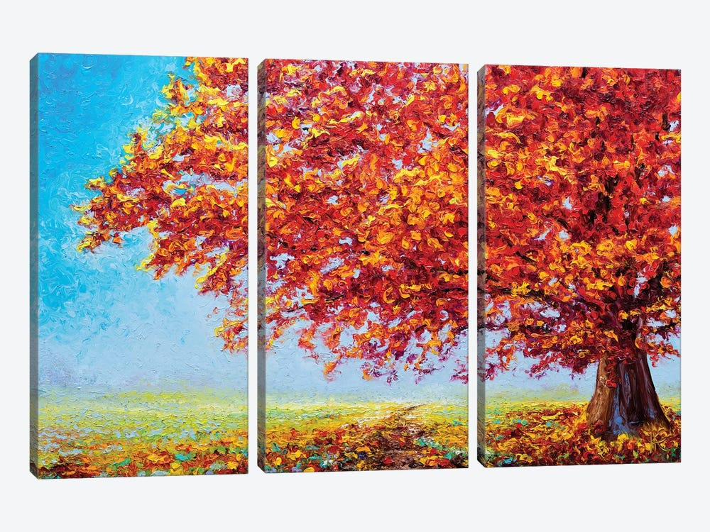 Serenity by Kimberly Adams 3-piece Canvas Wall Art