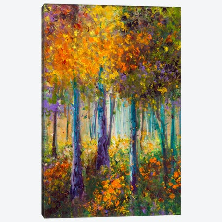 As The Leaves Turn Canvas Print #KIM35} by Kimberly Adams Canvas Print