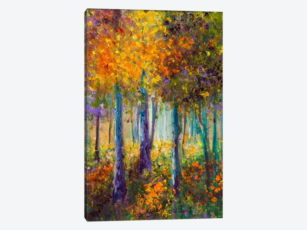 As The Leaves Turn by Kimberly Adams 1-piece Canvas Artwork