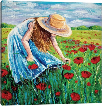 Blossom Canvas Print #KIM3