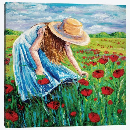 Blossom Canvas Print #KIM3} by Kimberly Adams Canvas Wall Art