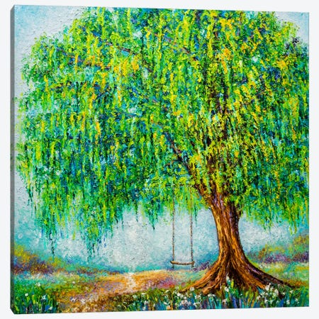 Under The Willow Tree Canvas Print #KIM42} by Kimberly Adams Art Print