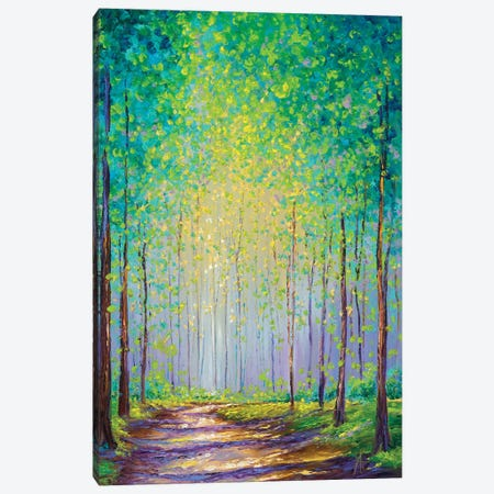 Afternoon Stroll Canvas Print #KIM46} by Kimberly Adams Canvas Artwork