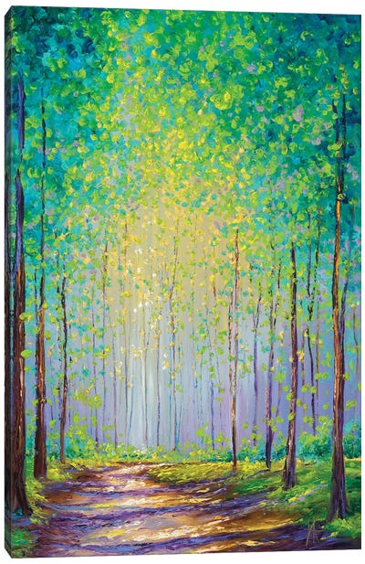 Afternoon Stroll Canvas Art Print