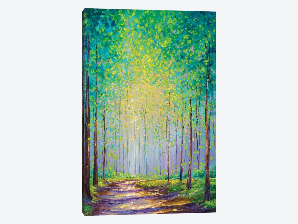Afternoon Stroll by Kimberly Adams 1-piece Canvas Artwork