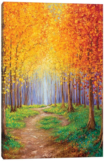 Autumn Escape Canvas Art Print
