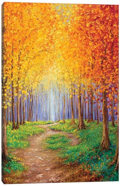 Autumn Escape Canvas Art Print