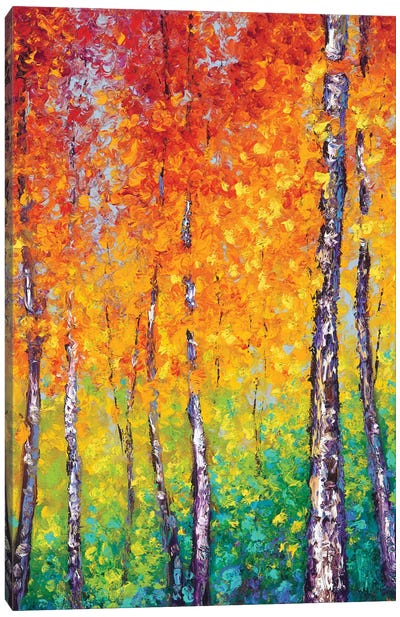 Autumn Evolution Canvas Art Print