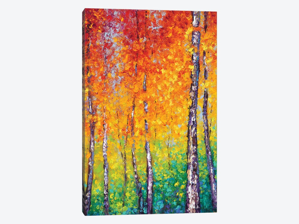 Autumn Evolution by Kimberly Adams 1-piece Canvas Print