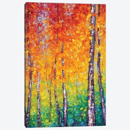 Autumn Evolution Canvas Print #KIM49} by Kimberly Adams Canvas Art Print