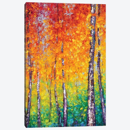 Autumn Evolution Canvas Print #KIM49} by Kimberly Adams Canvas Art Print