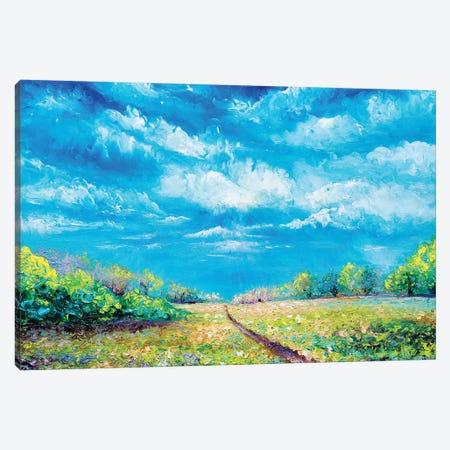 Defining Light Canvas Print #KIM50} by Kimberly Adams Canvas Art