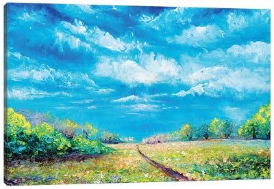 Defining Light Canvas Art Print