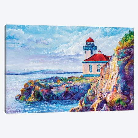 Friday Harbor Canvas Print #KIM51} by Kimberly Adams Canvas Wall Art