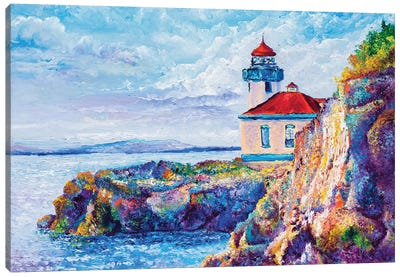 Friday Harbor Canvas Art Print