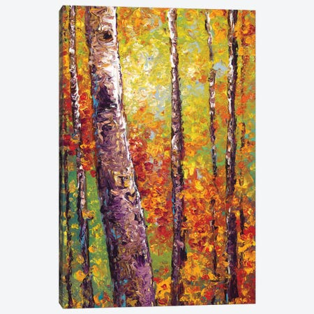 I Love You Canvas Print #KIM52} by Kimberly Adams Canvas Art