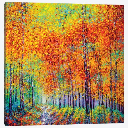 Opalescence Canvas Print #KIM54} by Kimberly Adams Art Print