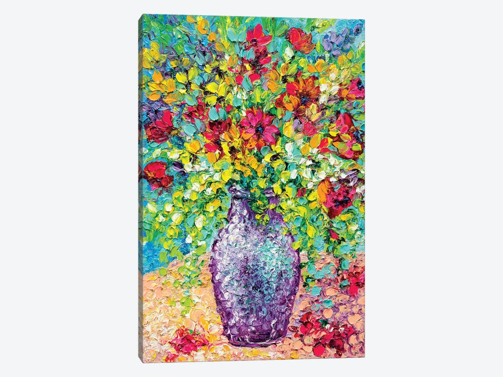 Summer Bouquet by Kimberly Adams 1-piece Canvas Art