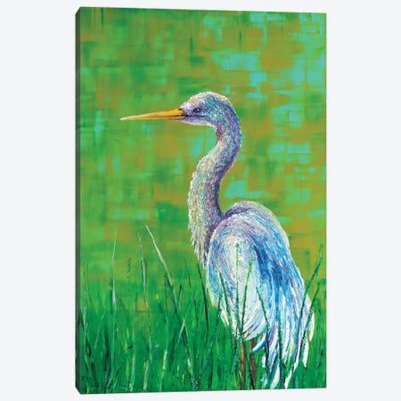 Crane Canvas Print #KIM61} by Kimberly Adams Canvas Print