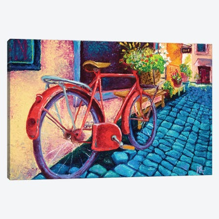 Cobblestone Path Canvas Print #KIM6} by Kimberly Adams Canvas Art Print