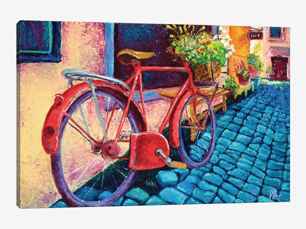 Cobblestone Path by Kimberly Adams 1-piece Canvas Print