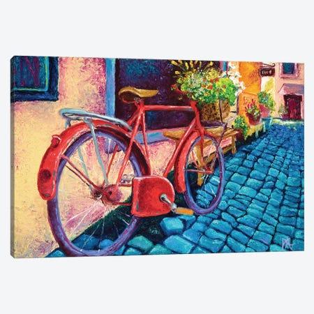 Cobblestone Path Canvas Print #KIM6} by Kimberly Adams Canvas Art Print