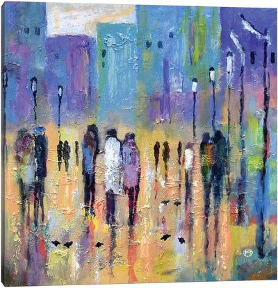 Uptown After 7 Canvas Art Print