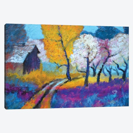 Old Peach Orchard Canvas Print #KIP114} by Kip Decker Art Print