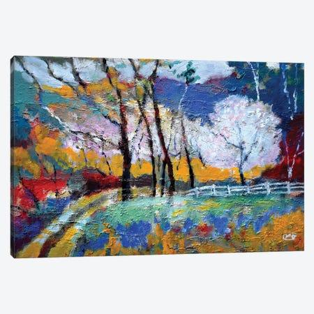 Spring Blossoms Canvas Print #KIP116} by Kip Decker Art Print