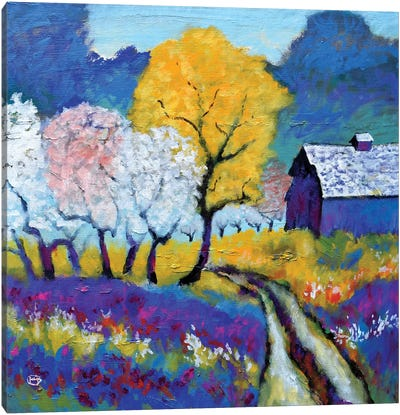 Thompson's Road Canvas Art Print
