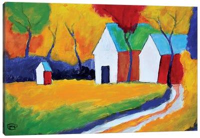 Hidden Farm Canvas Art Print
