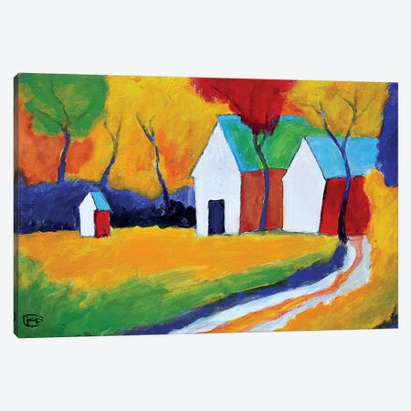 Hidden Farm Canvas Print #KIP123} by Kip Decker Canvas Art Print