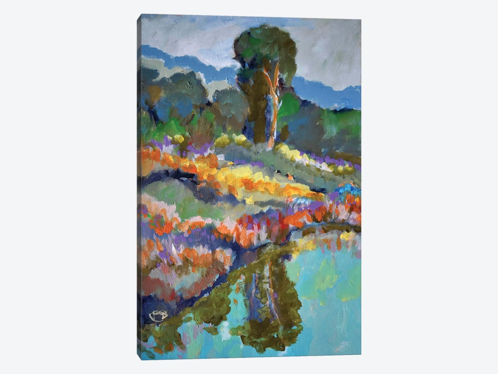 Country Pond by Kip Decker 1-piece Art Print