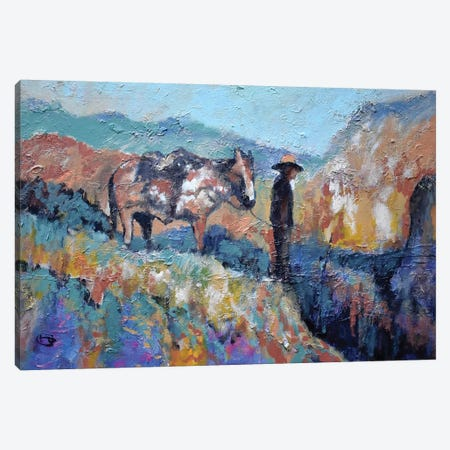 Canyon Overlook Canvas Print #KIP133} by Kip Decker Canvas Art