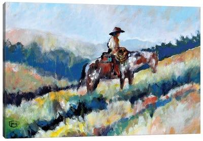 Climbing Higher Canvas Art Print