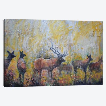 In The Aspens Canvas Print #KIP138} by Kip Decker Canvas Wall Art