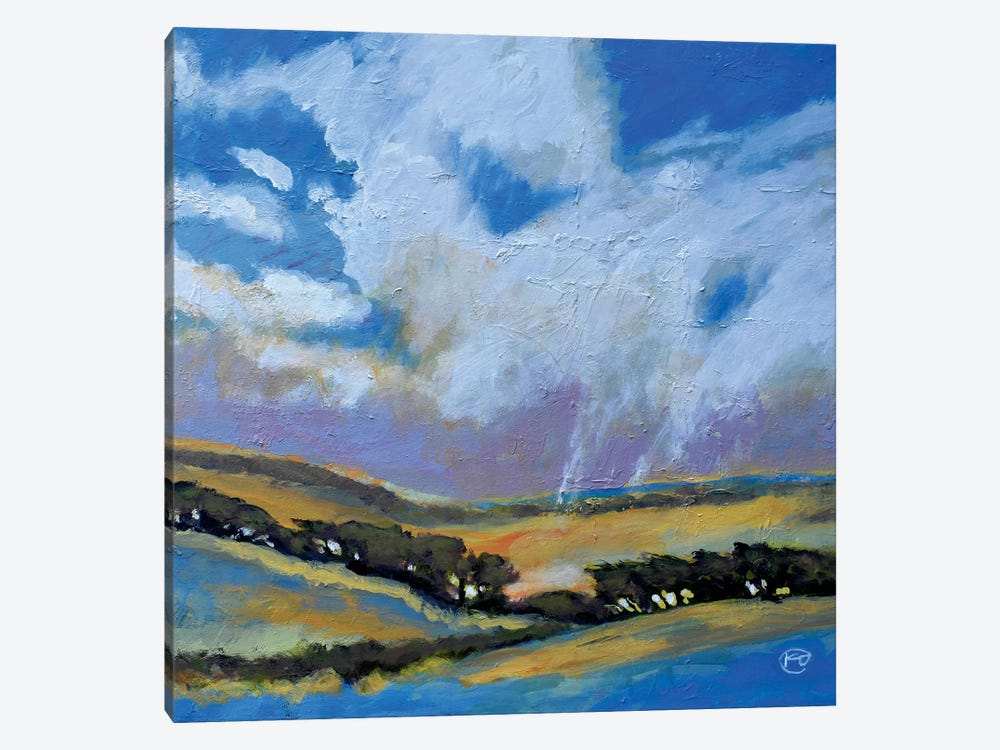 Dancing On The Hills 1-piece Canvas Artwork