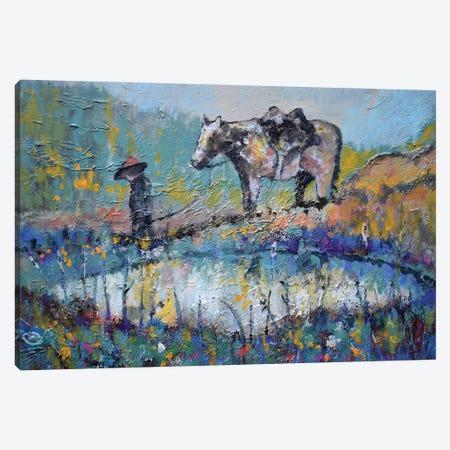 Mountain Spring Canvas Print #KIP141} by Kip Decker Canvas Art Print